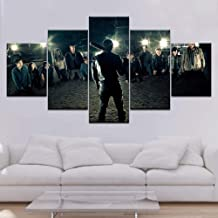 Canvas painting The Walking Dead saison 7 5pcs wall backgrounds poster Modular modern art canvas painting for living room home decoration art decorative paintings-40CMx60/80/100CM