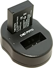 Dot Foto LP-E12 Replacement Battery Fast Dual USB Charger for Canon  See Description for Compatibility