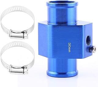VGEBY Auto Wasser Temp Temperatur Gemeinsame Rohr Sensor Aluminum Kühlerschlauch Adapter 26 40MM Blau ( Abmessung : 30MM )