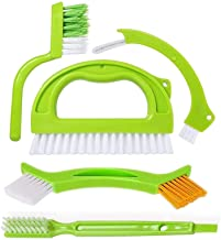 Tile Brushes Grout, Grout Cleaner Brush, Tile Joint Scrub Brush with Handle, Stiff Cleaning Brush for All of The Household...