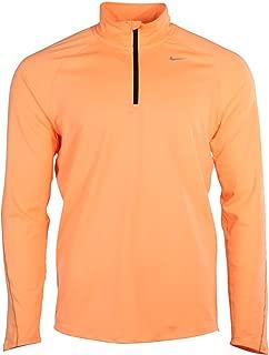 Nike Element 1 2 Half Zip Pullover Running Jacket Hyper Orange/Reflective Silver 519199 802 Small Men's