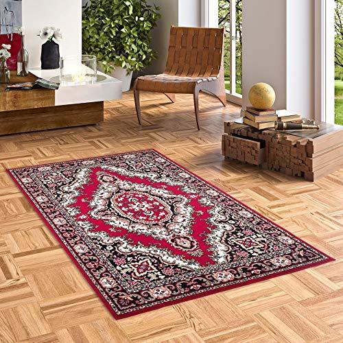 Orient Teppich Trendline Rot Keshan in 5 Größen