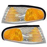 Epic Lighting OE Replacement Left Right Sides Pair Corner Signal Lights Compatible for 1994 1995 1996 1997 1998 Ford Mustang [ Epic Lighting ]