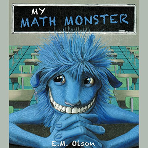 My Math Monster audiobook cover art
