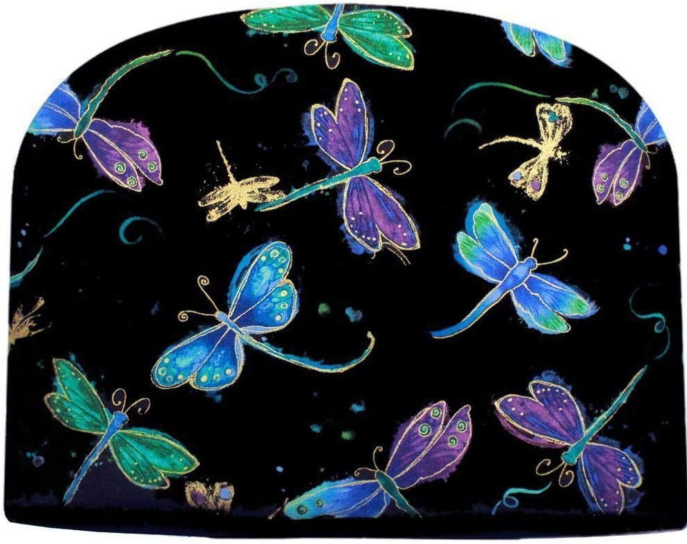 Blue trust Moon Tea Spring new work Cozy Dragonfly Insulated Double at Night