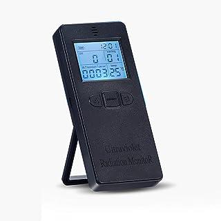 温度表示付きデジタル紫外線放射検出器紫外線計線量計電磁場放射試験機