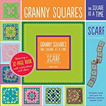 Granny Squares, One Square at a Time / Scarf
