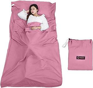 comprar comparacion Queta cabaña Saco de Dormir Saco de Dormir Saco de Dormir con Bolsa Ideal para Interior hostels Cabañas albergues Camping ...