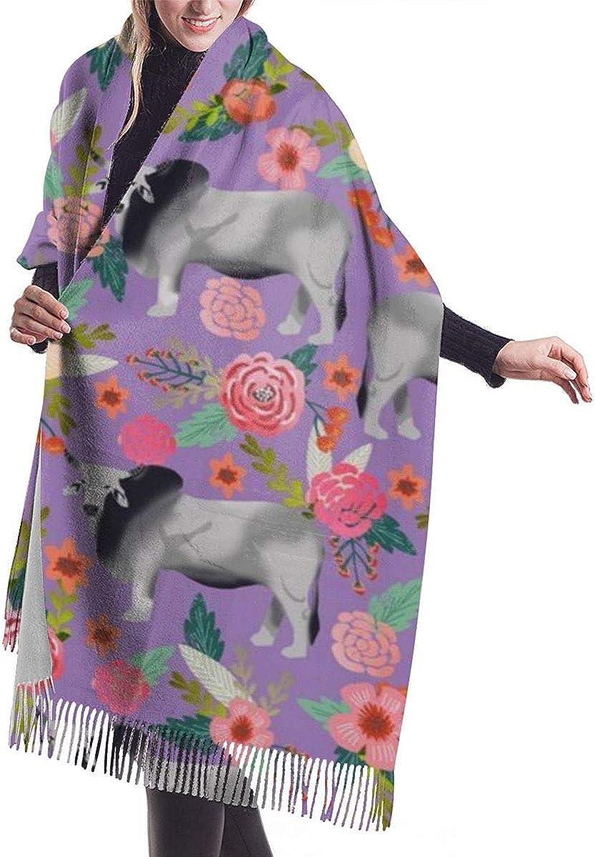 Cashmere Feel Light Scarves, Pashmina Shawl Cape Blanket Evening Shawl Wrap