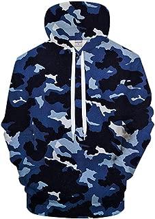 Navy Blue Camo 3Dprint Hoodies Men Women Sweatshirt Casual Tracksuit Male Hoodie Coat Pullover Streetwear Drop Ship