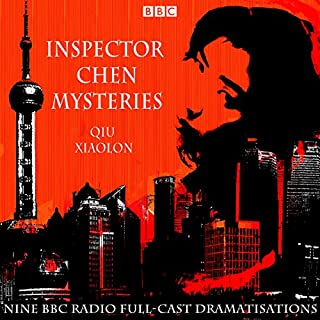 The Inspector Chen Mysteries audiobook cover art