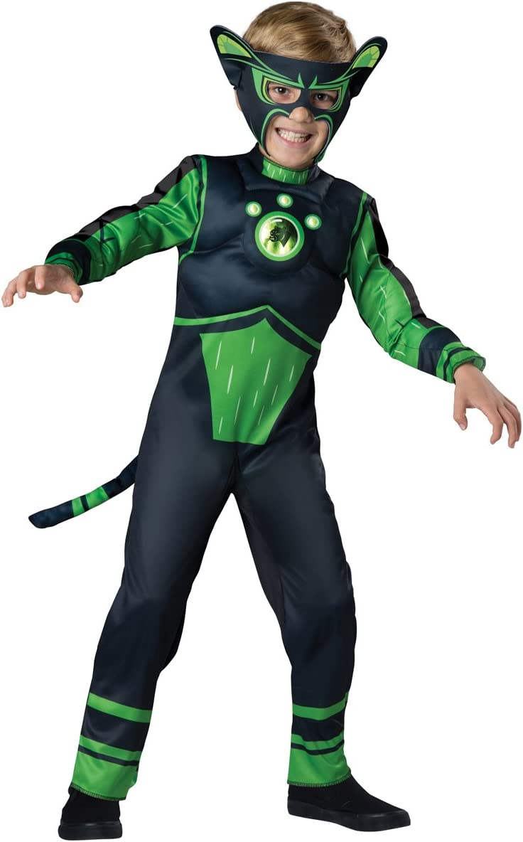 Bombing new work Fun World InCharacter Max 74% OFF Costumes Panther Costume Size 6 Green