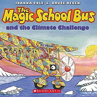 The Magic School Bus: Climate Challenge audiobook cover art