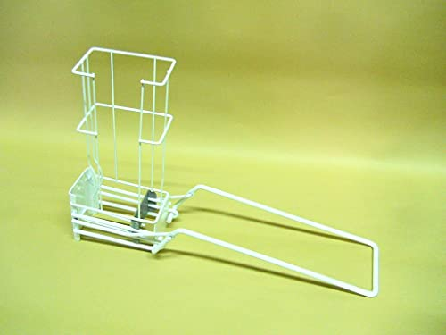 Multi-Load 6 Aluminum Can Crusher Heavy Duty Basket Steel Construction Arm Cans