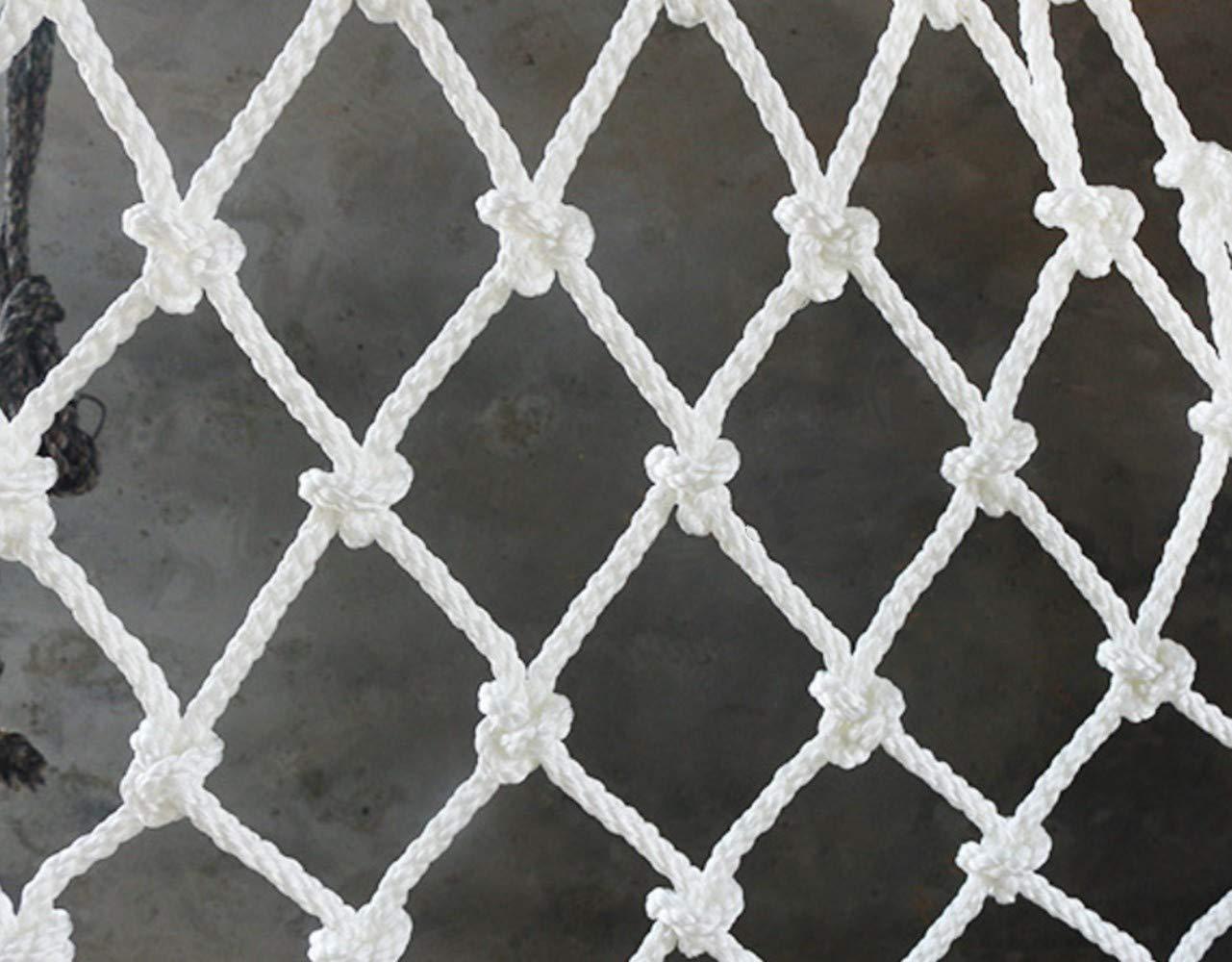 Mitef Red De Construccion Anti-Caída Seguridad De Protección Escaleras Balcón Jardín Planta Crecimiento, Rejilla De 10 cm/4
