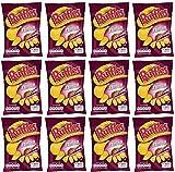 Ruffles Patatine al Prosciutto - Confezione da 12 buste - 170 gr