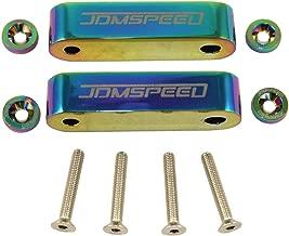 JDMSPEED Neo Chrome CNC Billet 3/4