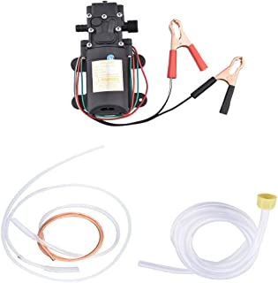 Geelyda Oil Change Pump 12v 60w Fluid Diesel Fuel Extractor Suction Transfer Pump for 5L Boat Car Motorbike Transfer Pump Change Kit