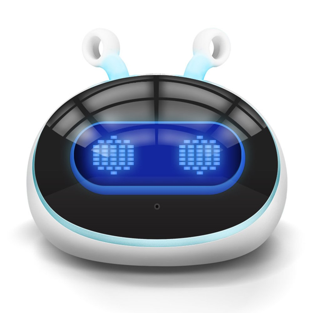 Tongzhisheng知能ロボット早期学習機幼児玩具スマートWifi版子供物語機械音声会話チャット英語中国語学習ストーリー百科事典音楽玩具パズルインタラクティブコンパニオン3-12(Egg Egg)