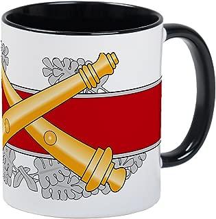 CafePress Army Combat Artillery Badge Mug Unique Coffee Mug, Coffee Cup