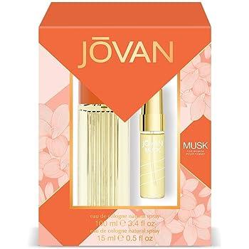 Jovan Musk Pack Mujer: Eau de Cologne Natural Spray 100 ml + Eau ...