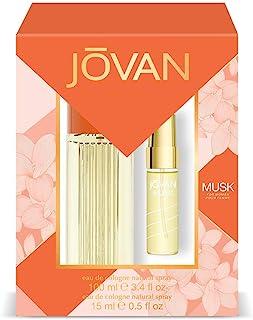 Jovan Musk Pack Mujer: Eau de Cologne Natural Spray 100 ml + Eau de Cologne Natural Spray 15 ml
