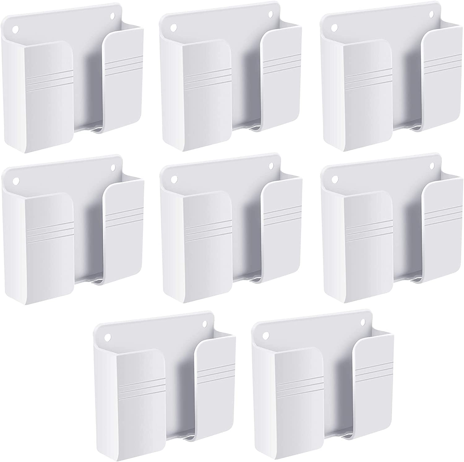 8 Pieces Wall Mail order Mount Phone Control Holder Cheap mail order shopping Storage Remote Adhesive