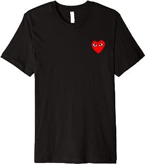 Heart Pocket T-Shirt Men Women Kids Premium T-Shirt
