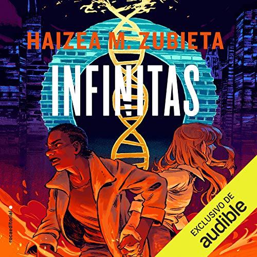 Diseño de la portada del título Infinitas