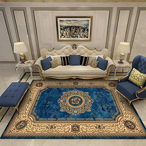WJY Teppiche, Teppich, Teppich, Teppiche, europäische Klassik Persische Kunst Teppich für Wohnzimmer Schlafzimmer Anti-Rutsch-Boden-Matte Mode Küche Teppich Vorleger, 1-40 * 60,6,80 * 120