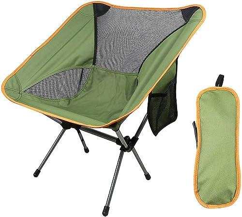 YXLZZO Chaise De Pêche En Plein Air Chaise De Pêche Lune Chaise De Camping - Deux Couleurs En Option -2 Kg Masque de soudure (Couleur   vert)