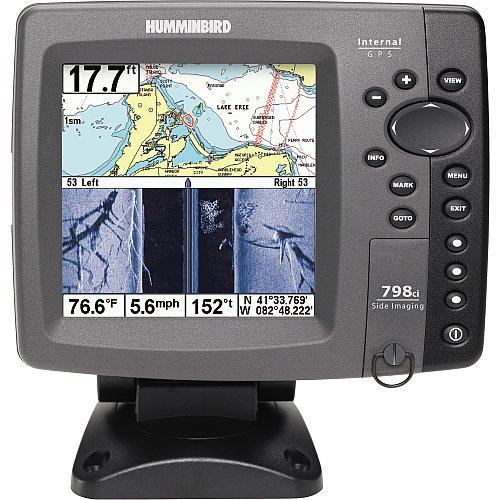 Humminbird 798ci SI Combo 5-Inch Waterproof Marine GPS and Chartplotter with Sounder (Navionics Gold and HotMaps Premium Charts Pre-loaded)