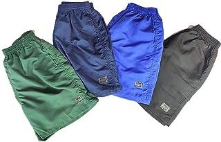 Kit 4 Short Masculino Academia Liso 3 Bolsos Original