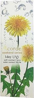 アコルデ(Acorde) カラコン ワンデー ±0.00 Color:ウィークエンドブラウン 10枚入り 9P00M0000000009P