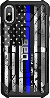 Limited Edition - Customized Designs by Ego Tactical Over a UAG Urban Armor Gear Case for Apple iPhone X/Xs (5.8