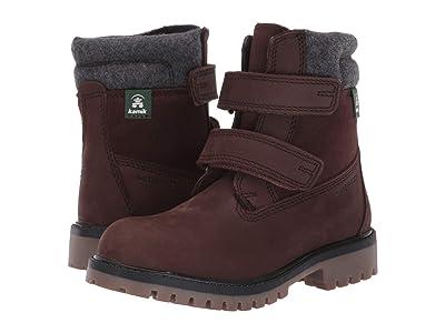 Kamik Kids Takodav (Little Kid/Big Kid) (Deep Brown) Kids Shoes