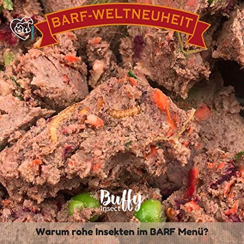 Petman Barf-in-One BUFFY, 750g-Beutel, Tiefkühlfutter, gesunde, natürliche Ernährung für Hunde, Hundefutter, BARF, B.A.R.F. (6 x 750g)