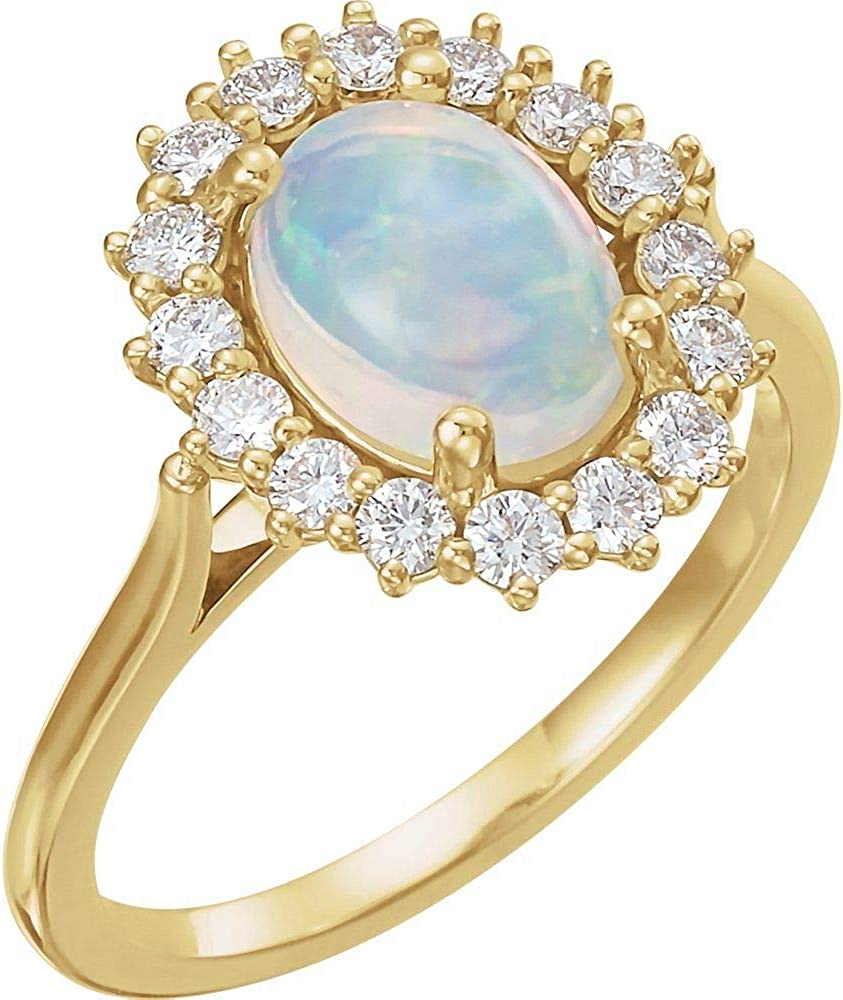 Color Stone Ring San Francisco Mall Halo-Style New item
