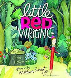 A screenshot of the cover of the book Little Red Writing