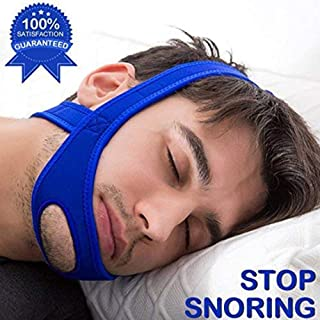 TOOTHY Snoring Chin Strap Most Effective Snoring Solution and Anti Snoring Devices - Snoring Chin Strap,Blue