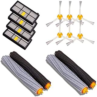 Extractor Brushes Replacement Parts Kits for iRobot for Roomba 800 900 Series Vacuum Cleaner Accessories Extractor Brushes Filters Side Brushes