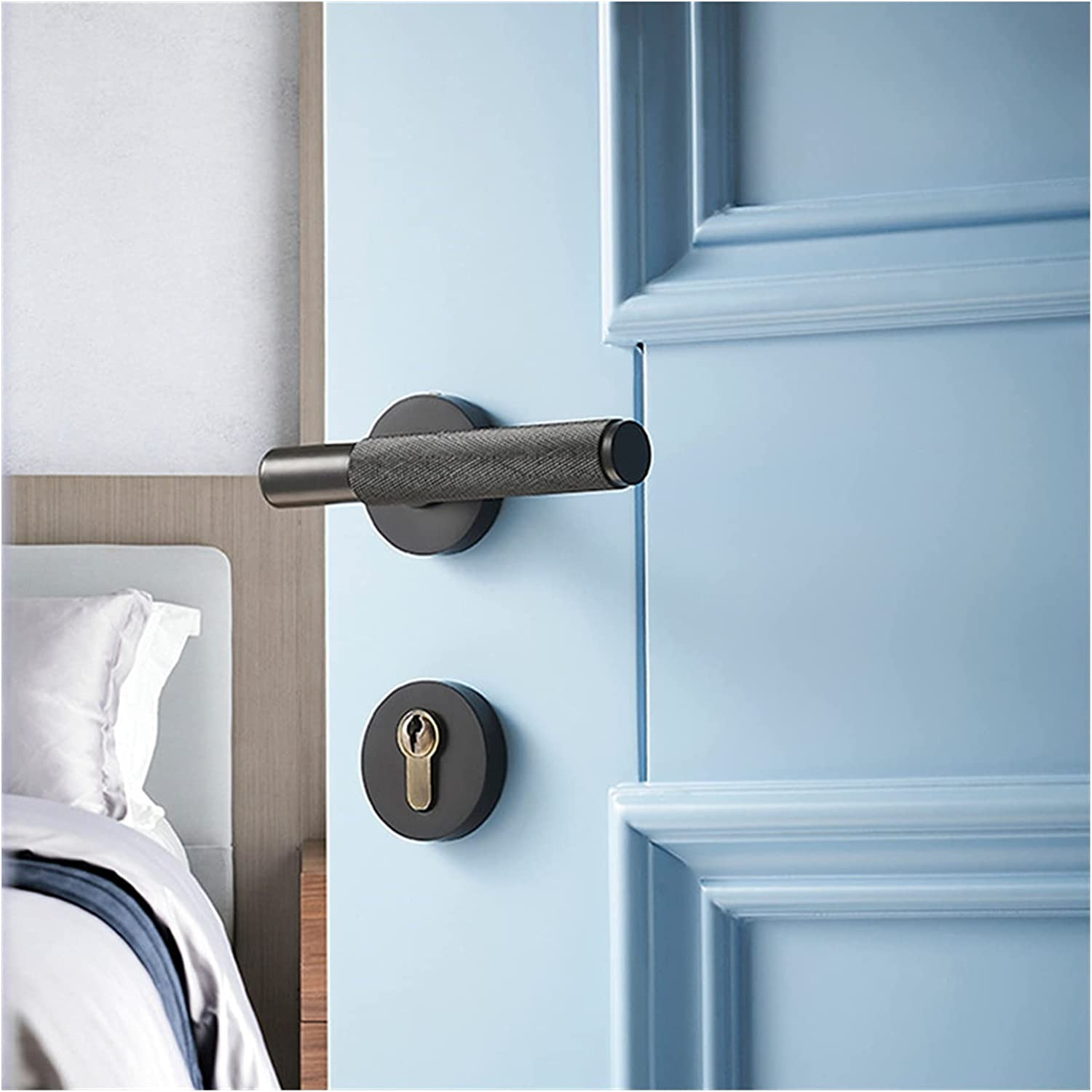 CHENGSYSTE Push Pull New products world's highest quality popular Handles Gifts Copper Door Bed Handle Lock SIL-ent