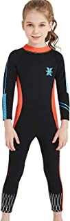 featured product DIVE & SAIL Girls 2.5mm Wetsuit Long Sleeve One Piece UV Protection Thermal Swimsuit