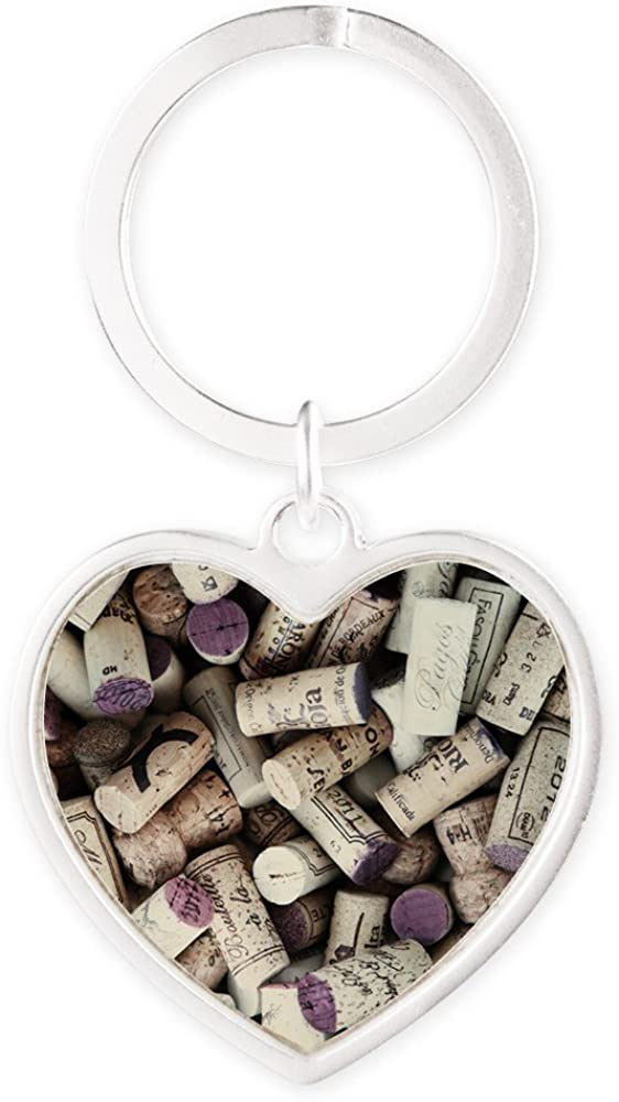 Heart Keychain I Spring new work one Max 59% OFF after another love Wine Corks
