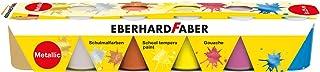 Eberhard Faber 575508 - farby szkolne Tempera, 6 x 25 ml, metaliczne