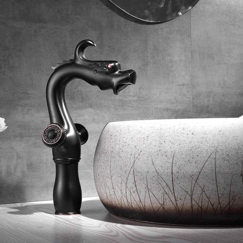 Waschtischarmaturen Küchenarmaturen Kupfer Schwarz Alten Heien Und Kalten Badezimmer Waschbecken Drehbaren Wasserhahn Bad Waschbecken Bad Wasserhahn -