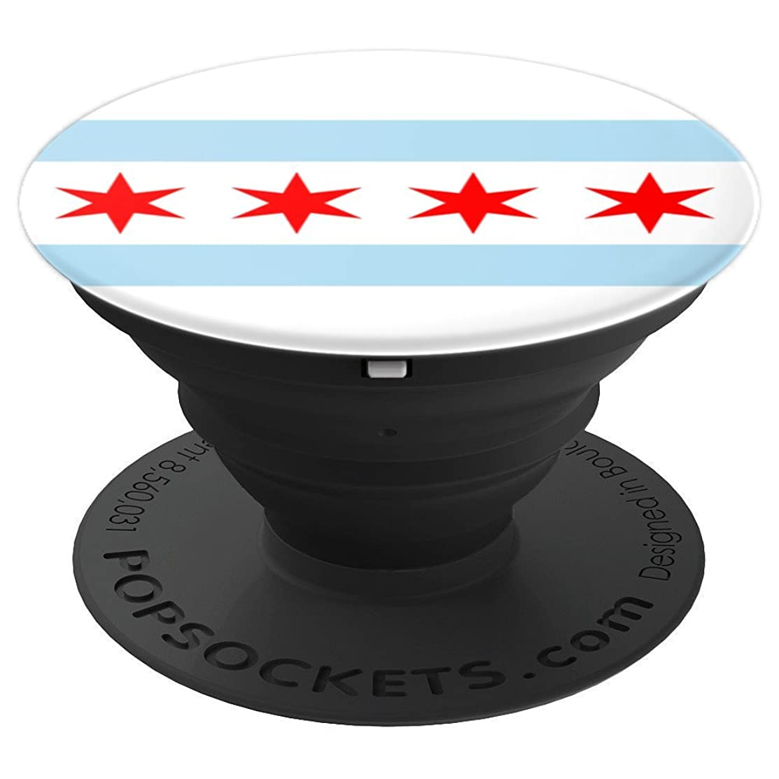 Chicago Flag - PopSockets Grip and Stand for Phones and Tablets