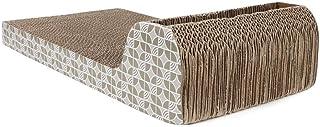 Okuyonic Kitty griffoirs, griffoirs Confortables en Carton griffoirs pour Chat griffoirs réversibles pour Chat pour Kitty