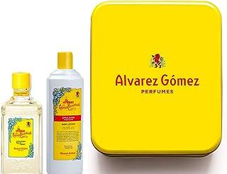 Alvarez Gomez Lata De Colonia Concentrada 300ml + Emulsión 460ml Amarillo