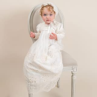 Clementine Girls Long Sleeve Christening & Baptism gown